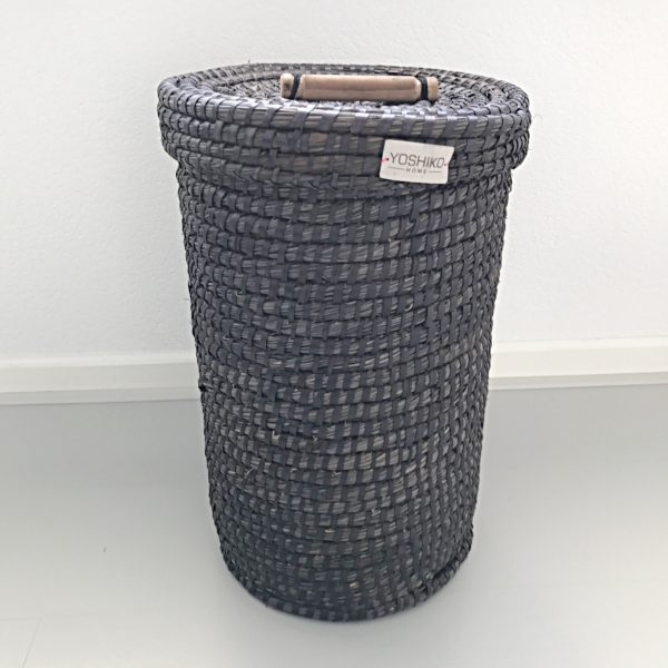 Laundry Basket Zwart M
