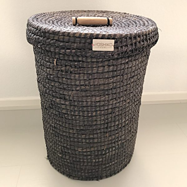 Laundry Basket Zwart L